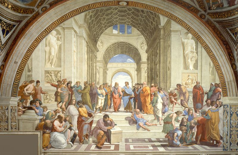 The School of Athens by Renaissance artist Raphael